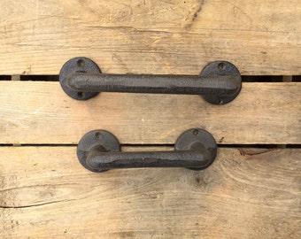Industrial Style Door Handle