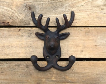 Deer Wall Double Hook