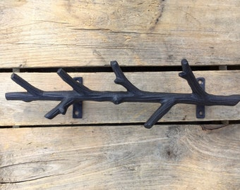 Cast Iron Tree Branch Key Rack