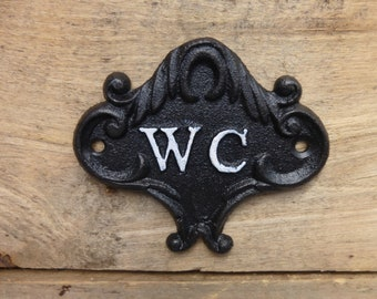 Wooden & Cast Iron Signs