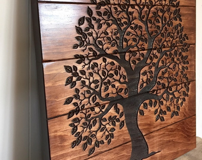 Featured listing image: Tree of Life Wooden Sign