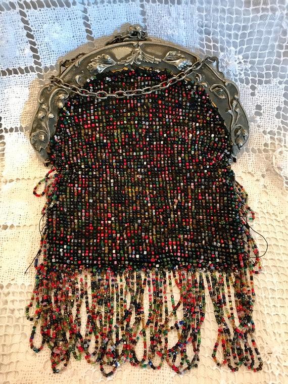 Antique beaded purse/handbag