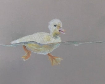 Print of ducky drawing