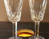 WATERFORD Crystal Lismore Sherry Glass 5 inch Set of 2