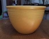 Vintage Fiesta Original Yellow Mixing Bowl 4 (No Rings)
