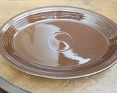 Fiesta Large Chocolate Platters 13 5 8 inches long