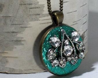 Azure Sparkle Necklace