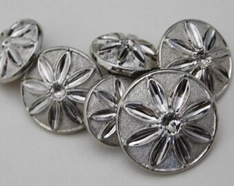 4 Wooden Fairy Buttons #SB-00017