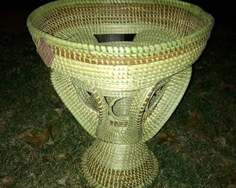 Sweetgrass Gullah Stand Basket