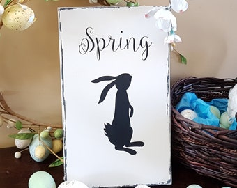 Wood Sign, Wood Signs, Spring Decor, Spring, Nursery Wall Art, Kitchen Wall Decor, Nursery Art, Kitchen Wall Art, Spring Decorations