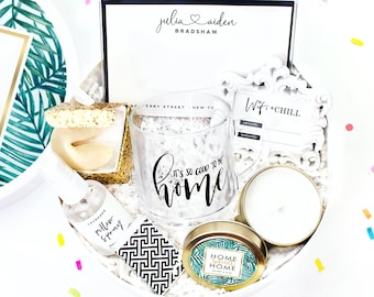 White Confetti Box