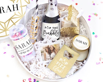 Bridesmaid Proposal Gift Box - Bridesmaid Proposal Box - Will You Be My Bridesmaid Box - Maid of Honor Proposal Box - Wedding Party Gifts