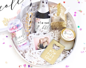 Will You Be My Bridesmaid Gift - Bridesmaid Proposal Box Set - Maid of Honor Proposal Box - Bridesmaid Thank You Box - Bridesmaids Proposal