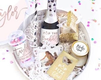 Bridesmaid Gift Box - Bridesmaid Box Set - Asking Bridesmaid - Faux Rose Gold - Wedding Party Gifts - Will you be my Bridesmaid Gifts