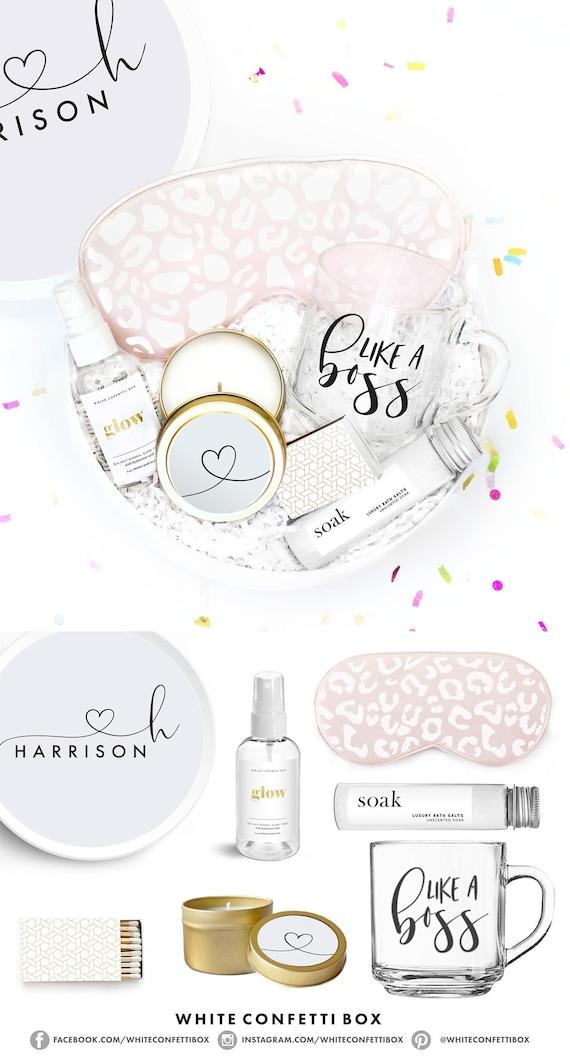 New Job Gift  Promotion Gift Box  Bosses Day  Like A Boss