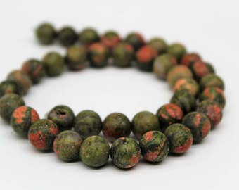 Unakite Gemstone Round Loose beads 6/8/10mm