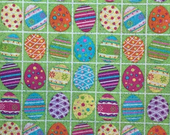 Jaune Pâques Poussin Design robe de coton//Craft Tissu