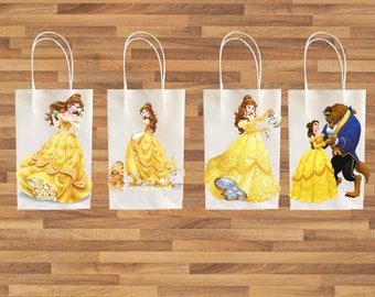 Beauty And The Beast Party Decorations Etsy