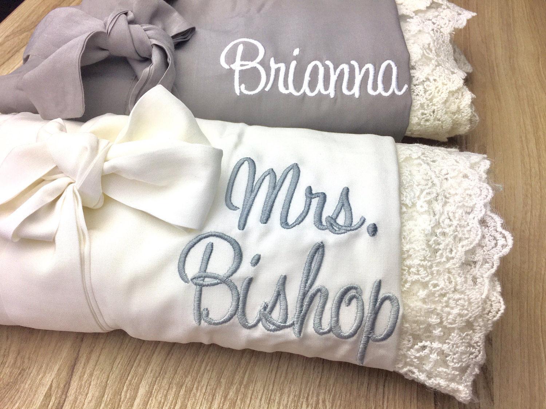 426723b7a1 Wedding robe SALE! Bridesmaid robe