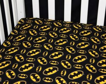 DC Wonder Woman Navy Badges CribToddler Bedding ~Custom Made~ Cotton