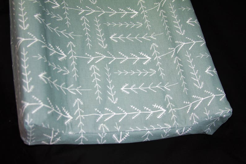 Gray Native Changing Pad Cover Standard or  IKEA Vadra Change Pad