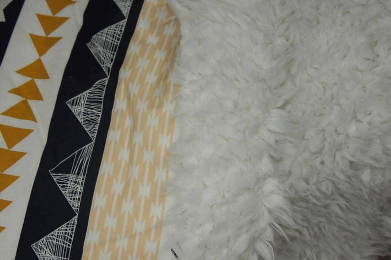 Faux Fur Baby Blanket Arid Horizon
