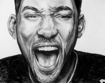 will smith with pencils on a3 paper