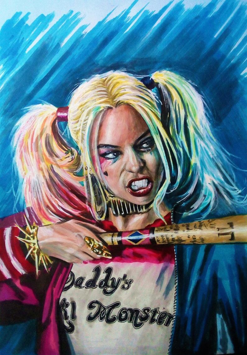 b0ac7c32518f Harley Quinn Margot Robbie suicide Squad