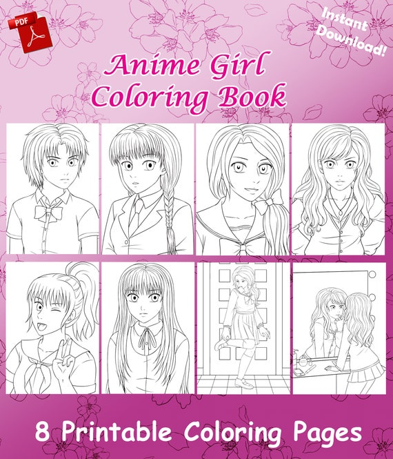 73+ Coloring Book Anime Pdf Free Images