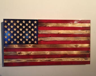 """Small Old Glory 21""""x12"""""""