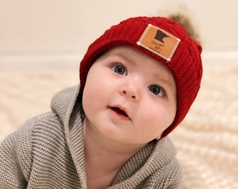 Minnesota Littles and Loon Littles Infant Beanie | Multiple Colors