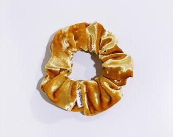 Knotty Gal Golden Velvet Scrunchy - Brooke