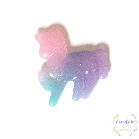 Purple Sparkly Unicorn Needle Minder