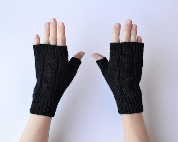 Merino wool Fingerless Gloves nO 46.