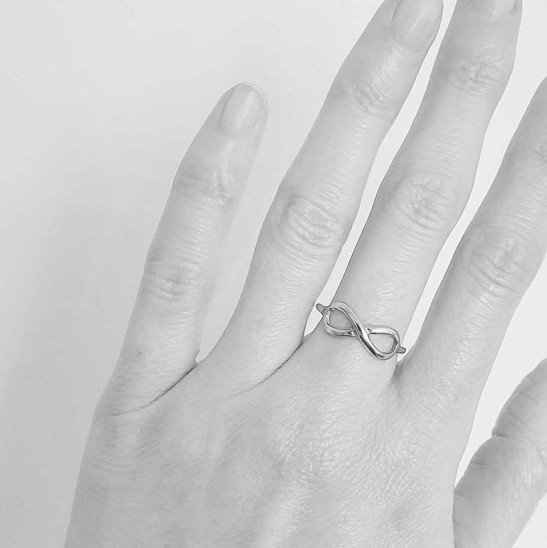 INFINITY recycled silver ring sterling silver infinity ring recycled silver ring recycled silver ring recycled silver infinity ring
