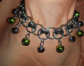 Chainmaille Belly Dancing Slave Jingle Anklet
