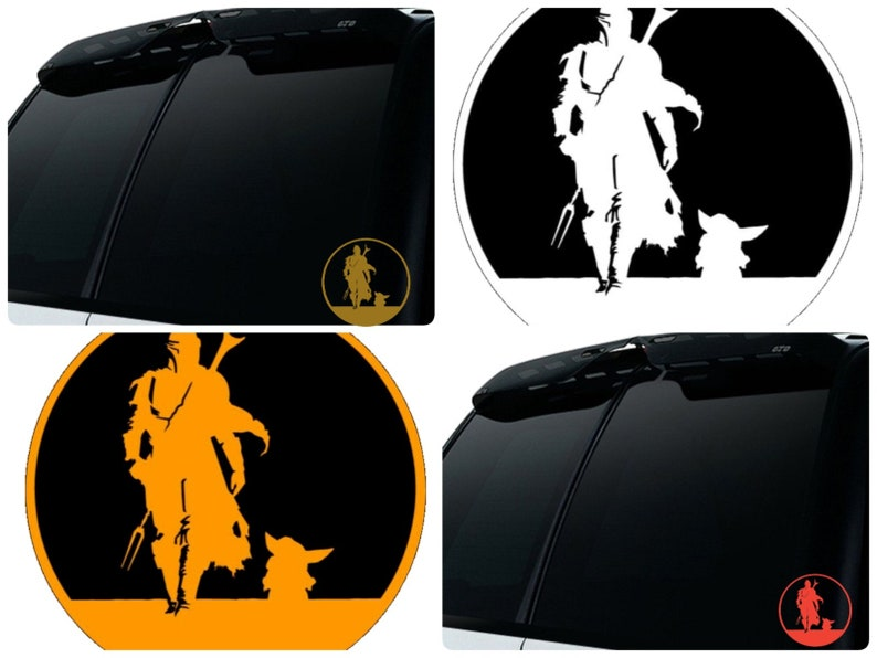 Updated Mando and Child decal