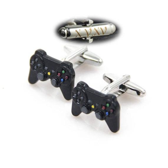 Controller Cufflinks Gamepad Keys Cufflinks Video Game Controller Cufflinks /& Tie Tacks Custom Personalized Cuff Links Gamer Cufflinks