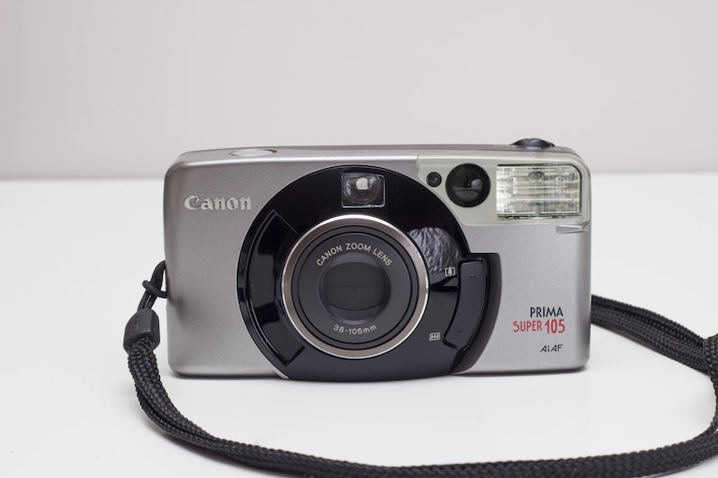 Canon Prima Super 105 AiAf - Point and Shoot 35mm film camera - 38-105mm  zoom lens