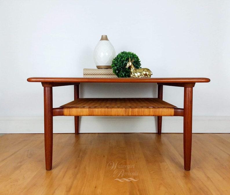 Sold Danish Modern Coffee Table Mcm Mid Century Modern Etsy