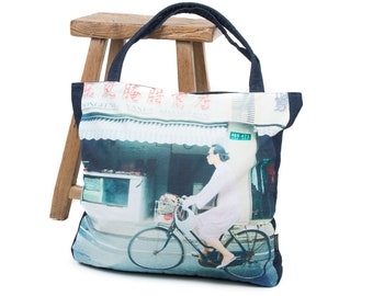 Exceptional Shopper for Urban Outfit  Zero Waste Gift Idea  Cool Tote Bag  PhotoMyVision