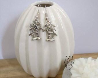 Earrings palmtrees, earrings palmtree, earrings summer, earrings beach