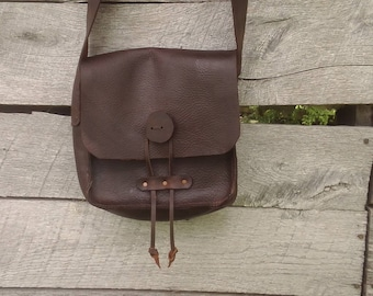 BUSHCRAFT-TINDER POSSIBLES POUCH 3 Colours Real Leather Wear-Reenactment-Gaming