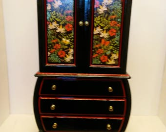large jewelry box/ Midnight Garden