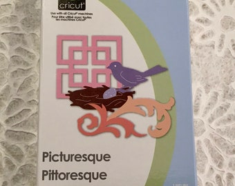 PICTURESQUE Cricut Cartridge ~ Brand New Condition ~ FREE SHIPPING