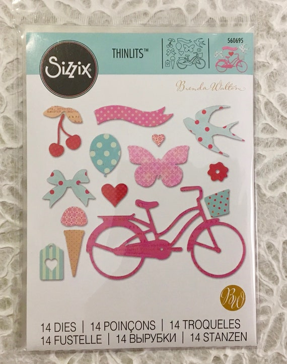 100 x MIXED  COLOURED SIZZIX DIE-CUT BANNERS FREE FIRST CLASS POSTAGE