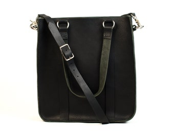 Kimberly Tote (Large) - Handmade leather tote with adjustable/removable shoulder strap