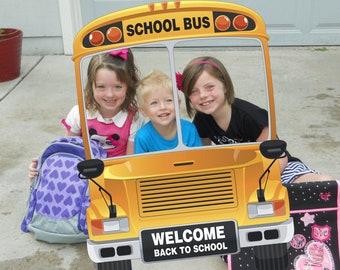 School Bus Frame Etsy