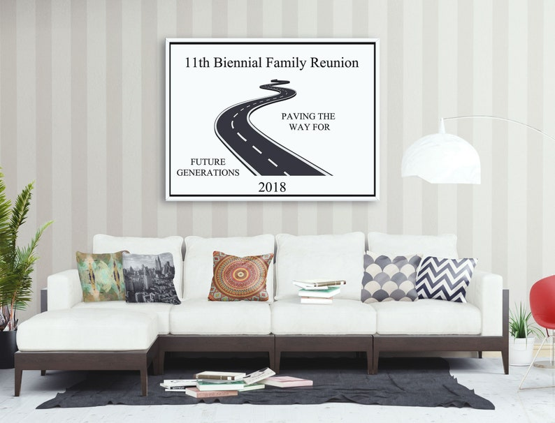 Large Personalized Family Reunion Banner Road Banner Family Etsy