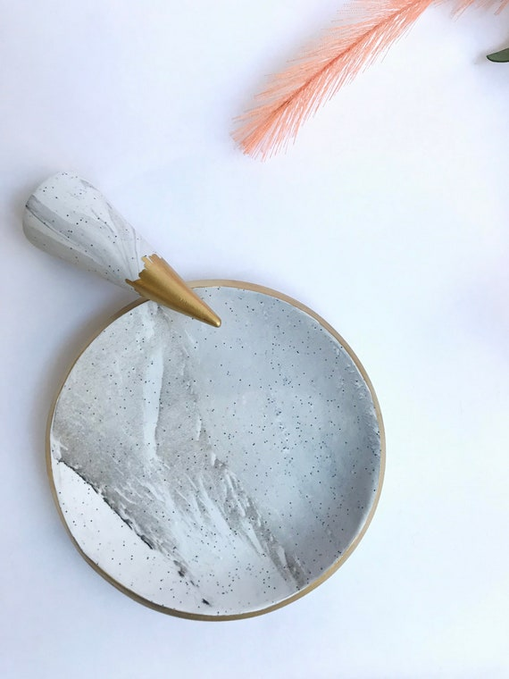 Marbled Clay JewelleryTrinket Dishes
